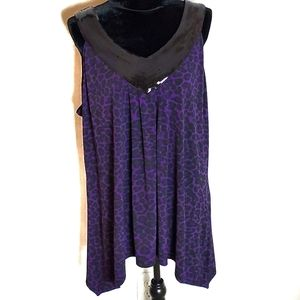 Fashion Bug Sequined Tank Size 2X